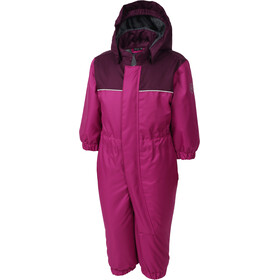 Color Kids Kombi Mini Gevoerde Coverall Kinderen, berry